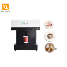 3D Digital Portable Cake/ Coffee Printer HY3422 with Full Color Edible Ink