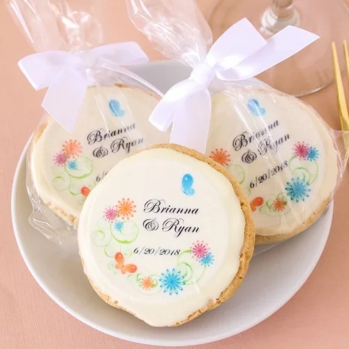 Sinojoinsun™ Wedding cookies printed food grade edible ink; Edible paper and Food printer