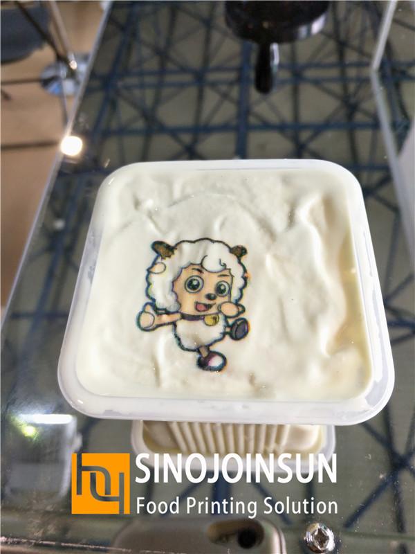 sinojoinsun online food inkjet printer print ice cream