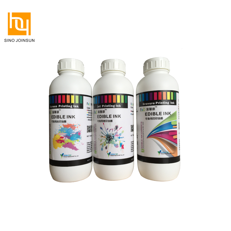 Safe Edible Pad Printing Ink for Candy, Fruit, Gum, Casule printing