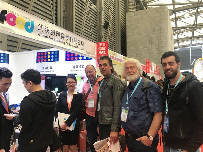 Sinojoinsun team at backery china 2019
