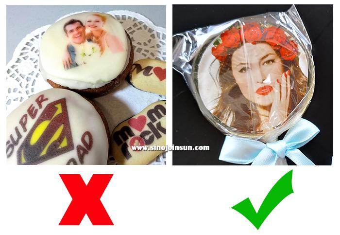 edible images comparison
