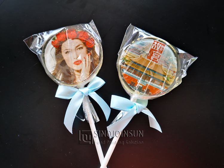 photo lollipop - sinojoinsun edible ink printing